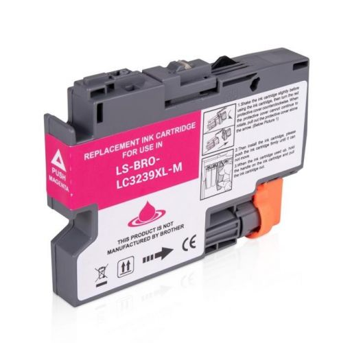 Cartuccia compatibile per Brother LC-3239 magenta 5000pag.ink pigmentato